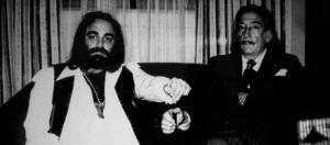 Demis Roussos y Salvador Dalí