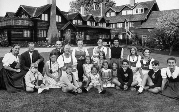 La auténtica familia Von Trapp